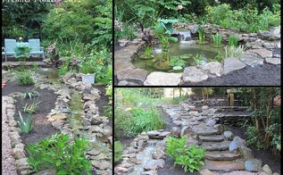 backyard renovation in silver spring maryland, landscape, outdoor living, ponds water features