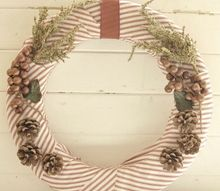 a christmas wreath, christmas decorations, crafts, seasonal holiday decor, wreaths