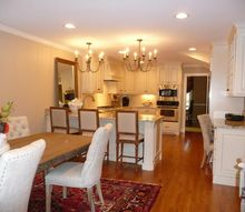 kingsbury open living space, home decor, home improvement, kitchen design