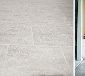 grouted vinyl peel stick tile bathroom ideas diy flooring how to