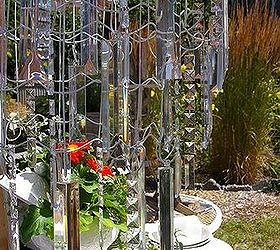 Garden Chandelier Made From Wire Garden Fencing Hometalk