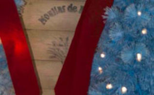 painted shutters, christmas decorations, crafts, curb appeal, seasonal holiday decor
