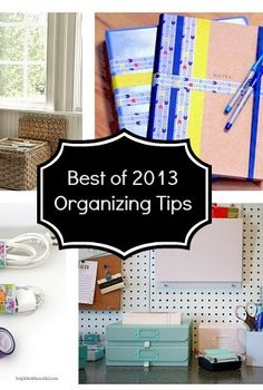 top 12 posts of 2013 on bright bold and beautiful, chalkboard paint, crafts, home decor, mason jars, 8 Organizing Tips for your home office