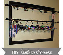 studio craft room organization using pallets and other budget friendly solutions, craft rooms, organizing, pallet, storage ideas, DIY marker storage