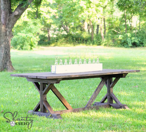 diy farmhouse table for 65 hometalk