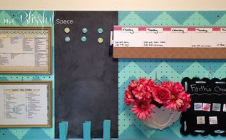 pegboard command station tutorial, cleaning tips, crafts