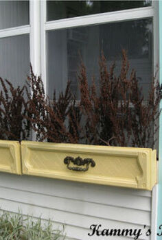 kammy s korner dresser drawer window boxes