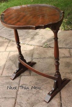 french graphic table, chalk paint, painted furniture, Delicate pretty table
