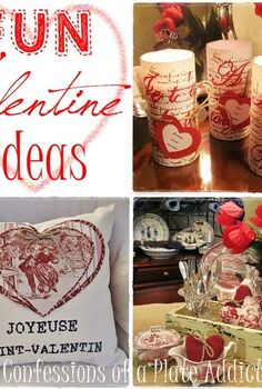 fun and easy french inspired valentine projects free graphics included, crafts, seasonal holiday decor, valentines day ideas