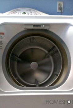 make your washer clean itself, appliances, cleaning tips, Clean drum after running the vinegar through the hottest cycle