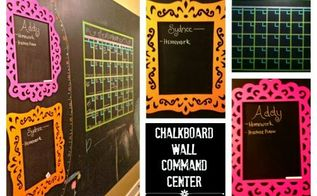 chalkboard wall command center, chalkboard paint, paint colors, painting, wall decor, Chalkboard Wall Command Center