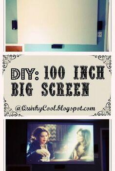 diy custom built 100 inch big screen, diy, entertainment rec rooms, woodworking projects, DIY Custome built 100 inch screen