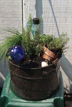 repurposing an old pot, gardening, repurposing upcycling