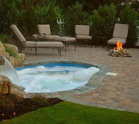 Amazing Small Backyard This Spool Is The Perfect Solution, Decks, Outdoor Living,  Patio,