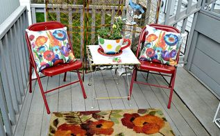 creating an outdoor space with recycled items, decks, outdoor furniture, outdoor living, repurposing upcycling