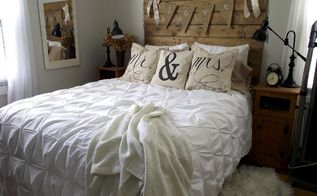 diy drop cloth script pillows, crafts