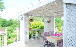 deck and porch before and after, decks, outdoor furniture, outdoor living, porches, diy deck design before and after outdoors garden gardening doityourself diydesign beforeandafter summerstyle summer spring deck porch bestofmay junemaintenance