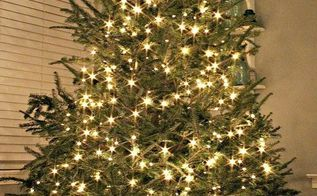 how to make a tree skirt out of a galvanized tub, repurposing upcycling, seasonal holiday d cor, I love the rustic charm it adds to our Chrisrtmas Tree