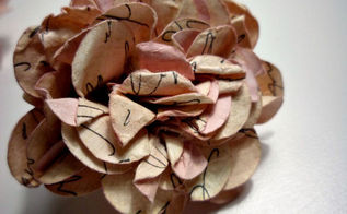 paper flower tutorial, crafts, Paper flowers that are easy to make