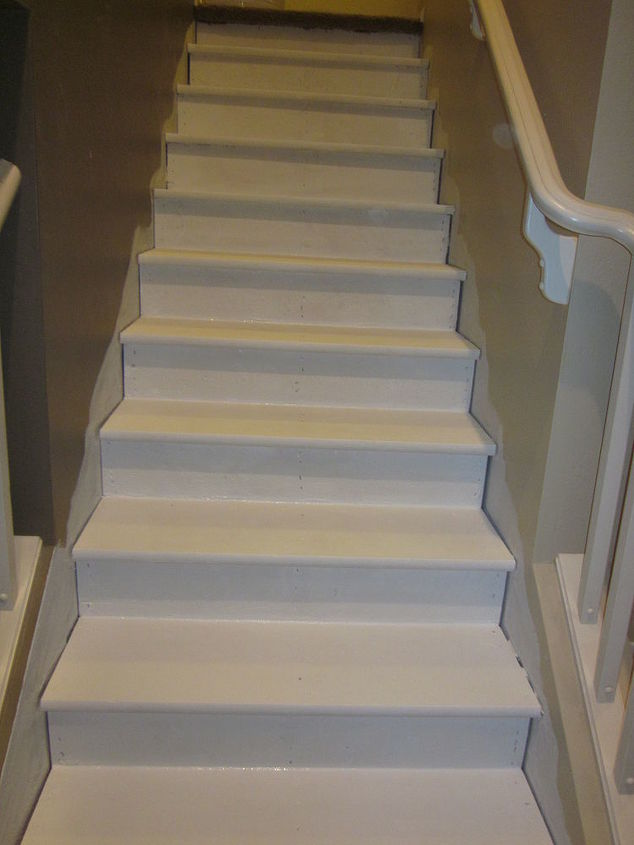 Removing Carpet From Stairs And Painting Them Hometalk