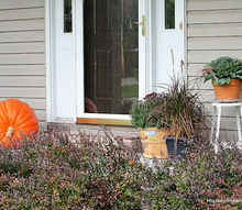 pumpkins on the porch aka if you re going to go go big, curb appeal, outdoor living, seasonal holiday decor