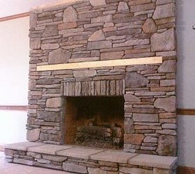 Manufactured Stone Veneer that I installed in dry-stack over a ...
