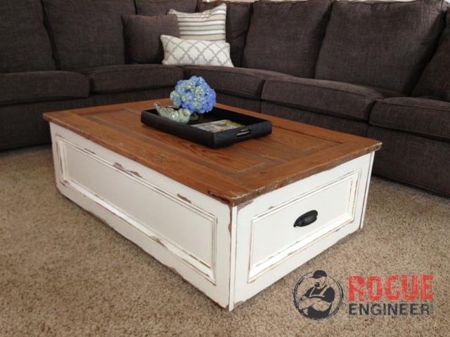 Diy storage coffee table hometalk for Diy coffee table with storage