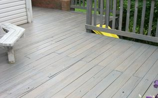 how to clean a deck, cleaning tips, decks, outdoor living, This is after we had finish the entire process of cleaning and staining the deck
