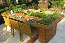 this is so great, gardening, outdoor living, Awesome garden table
