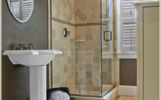 home staging tip cleaning your showerhead how often, bathroom ideas, cleaning tips, Bathroom with Shower
