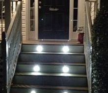 diy stair lighting, decks, electrical, lighting, stairs, Deck Stair lighting kit