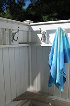how to build an outdoor shower beach not included, outdoor living