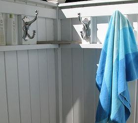 how to build an outdoor shower beach not included outdoor living - How To Build An Outdoor Shower