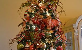 excellent how to s for holiday decorating, christmas decorations, crafts, seasonal holiday decor, How to use Deco Mesh