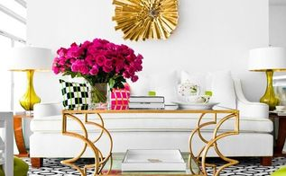home decor 2014 best glam decorating year ever, home decor, Pops of color with pops of gold accents look amazing