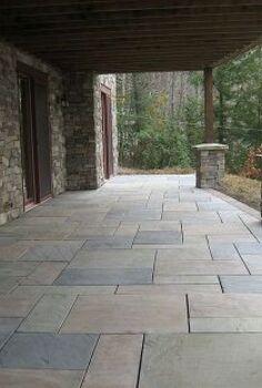 interlocking concrete paver systems, concrete masonry, decks, outdoor living, patio, Techo Bloc Aberdeen pavers