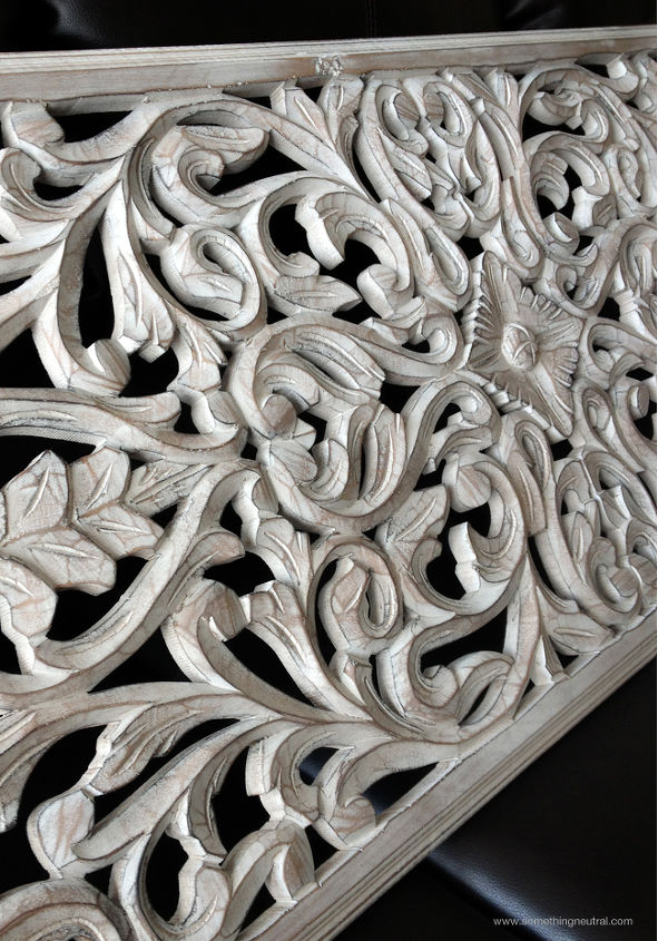 Pier One White Carved Wall Decor : White carved wood wall panel hometalk