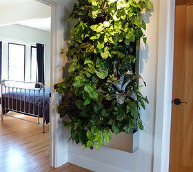 Great Living Wall For Small Space Gardens, Container Gardening, Gardening, Home  Decor, This