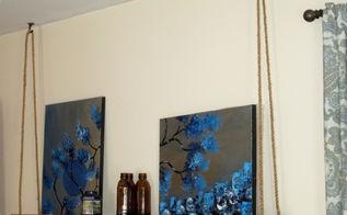 diy swing shelf, home decor, shelving ideas