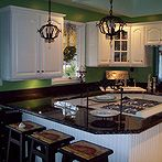 a budget countertops how to get the high end look for less, countertops, Think this counter is made from granite Think again