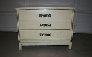 furniture chest of drawers repurposed into a coffee station, painted furniture, repurposing upcycling, Before