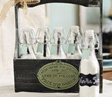 homemade vanilla sugar bottles a michaels craft diy, crafts, Homemade Vanilla Sugar Bottles A Michaels Craft DIY