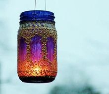 reuse ideas from past posts from mason jars to trampolines, mason jars, repurposing upcycling, Mason Jar garden light