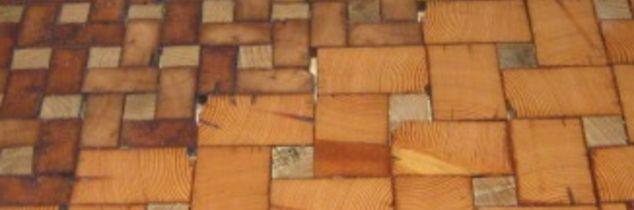 q end grain cobble block wood tile flooring, flooring, tile flooring, woodworking projects