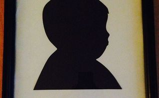 silhouette art, crafts