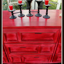 come check out my latest roadside rescue furniture makeover, painted furniture, after