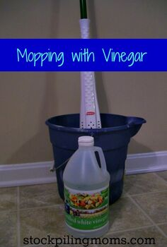 mopping with vinegar safe for most floor types amp tips for success, cleaning tips, Mopping With Vinegar