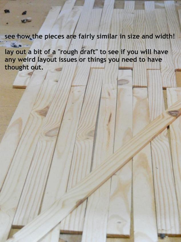 diy wood floor made from lathe, diy, flooring, how to, woodworking projects - DIY Wood Floor Made From Lathe! Hometalk