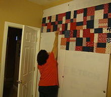building a design board wall for quilting scrapbooking etc, craft rooms, diy, how to, wall decor, This is my finished design wall for quilting and scrapbooking