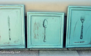 vintage wall art diy, chalk paint, painting, repurposing upcycling